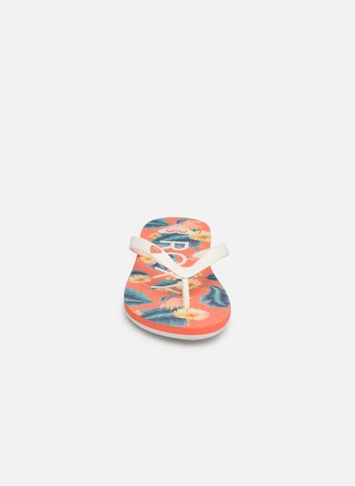 Tongs Roxy Rg Thaiti VI Multicolore vue portées chaussures