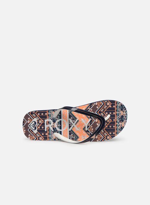 Flip flops & klipklapper Roxy Rg Pebbles VI Orange se fra venstre