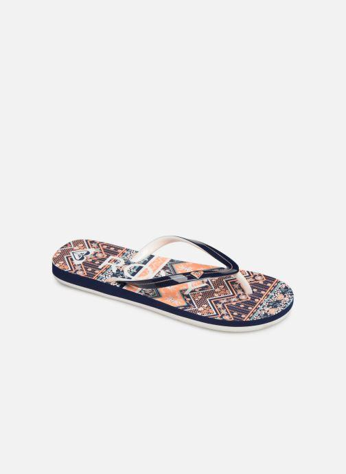 Flip flops & klipklapper Roxy Rg Pebbles VI Orange detaljeret billede af skoene