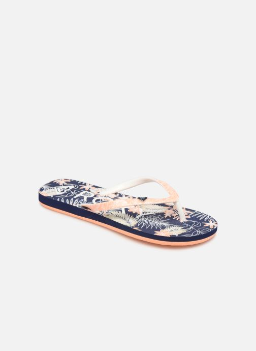 Flip flops Roxy Rg Pebbles VI Blue detailed view/ Pair view