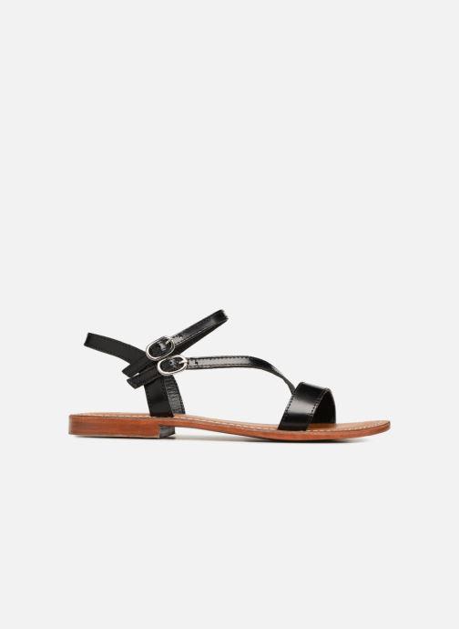 Sandales et nu-pieds L'Atelier Tropézien Ines Noir vue derrière