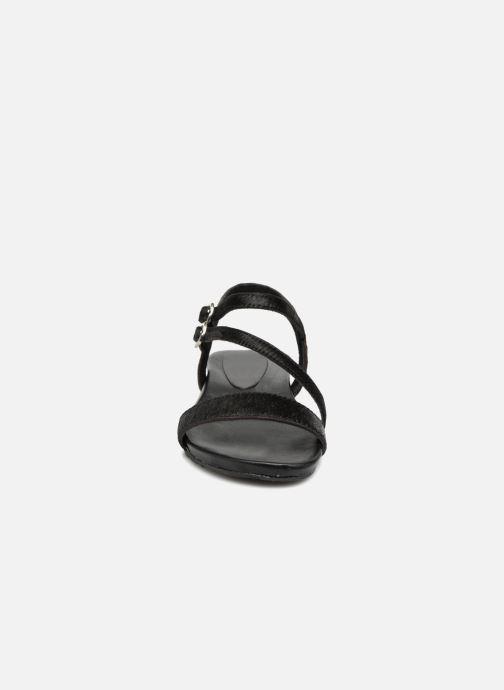 Sandales et nu-pieds L'Atelier Tropézien Margaux Noir vue portées chaussures