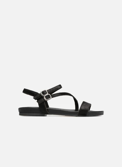 Sandales et nu-pieds L'Atelier Tropézien Margaux Noir vue derrière