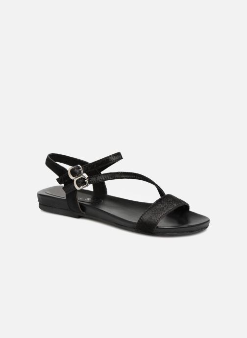 Sandals L'Atelier Tropézien Margaux Black detailed view/ Pair view
