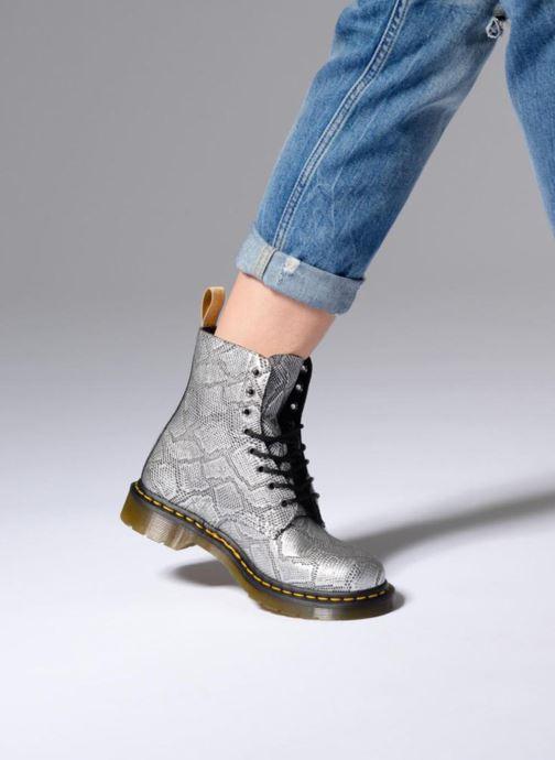 Boots en enkellaarsjes Dr. Martens Vegan Pascal Metallic Grijs onder