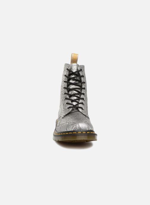 Boots en enkellaarsjes Dr. Martens Vegan Pascal Metallic Grijs model
