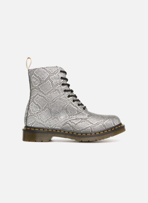 Boots en enkellaarsjes Dr. Martens Vegan Pascal Metallic Grijs achterkant