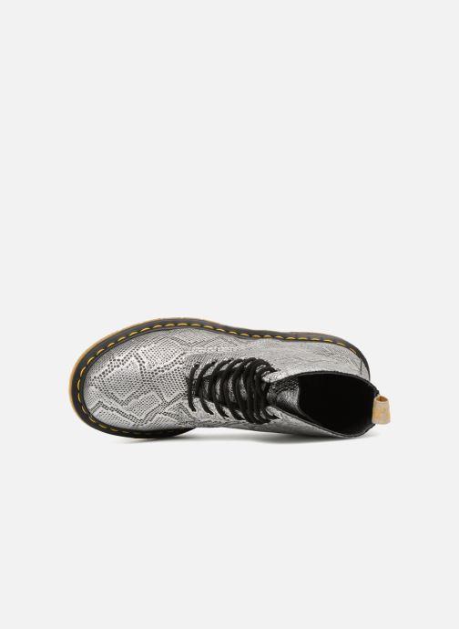 Boots en enkellaarsjes Dr. Martens Vegan Pascal Metallic Grijs links