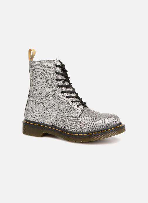 79b8fc20cf5 Bottines et boots Dr. Martens Vegan Pascal Metallic Gris vue détail paire