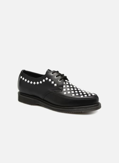 Zapatos con cordones DR. Martens Willis Negro vista de detalle / par