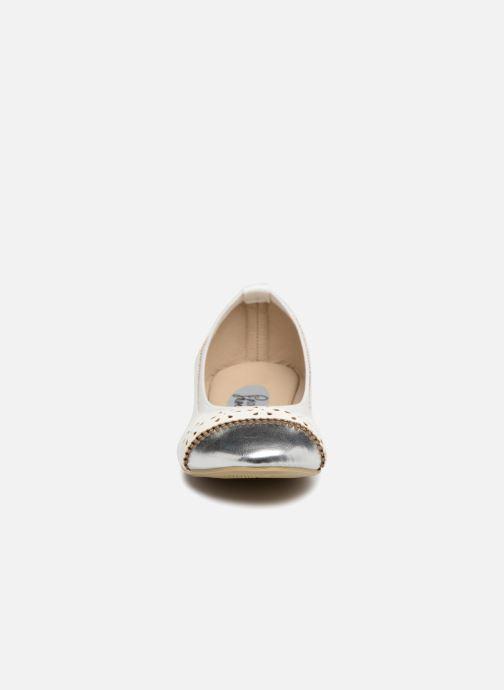 Ballerine I Love Shoes Kilina Bianco modello indossato