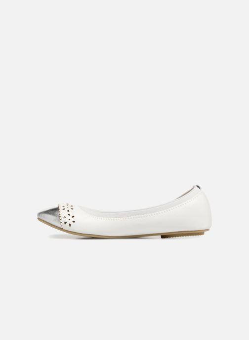 Ballerines I Love Shoes Kilina Blanc vue face