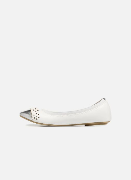 Ballerines I Love Shoes Kilina Blanc vue face