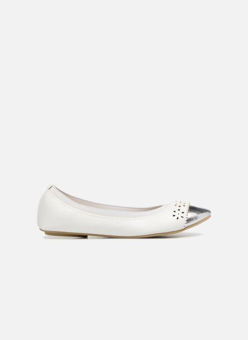 Ballerines I Love Shoes Kilina Blanc vue derrière