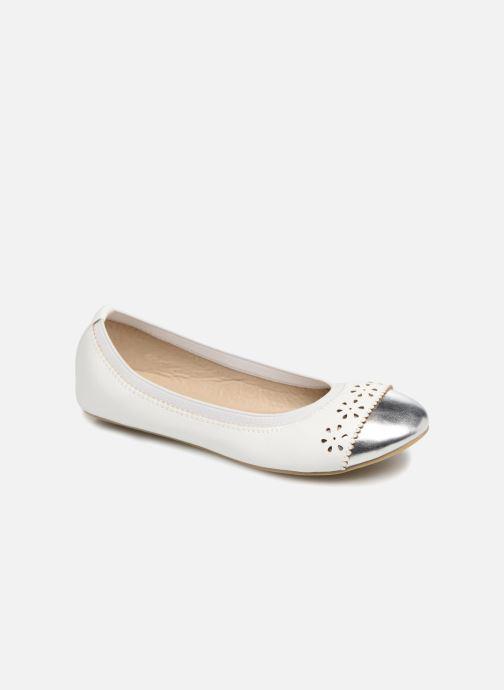 Ballerines I Love Shoes Kilina Blanc vue détail/paire