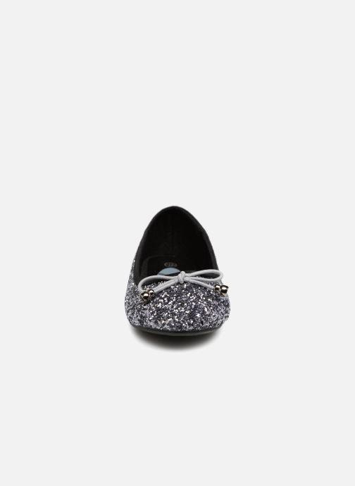 Ballerines I Love Shoes Kibrille Argent vue portées chaussures