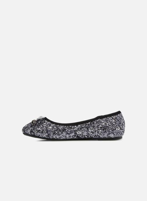 Ballerine I Love Shoes Kibrille Argento immagine frontale