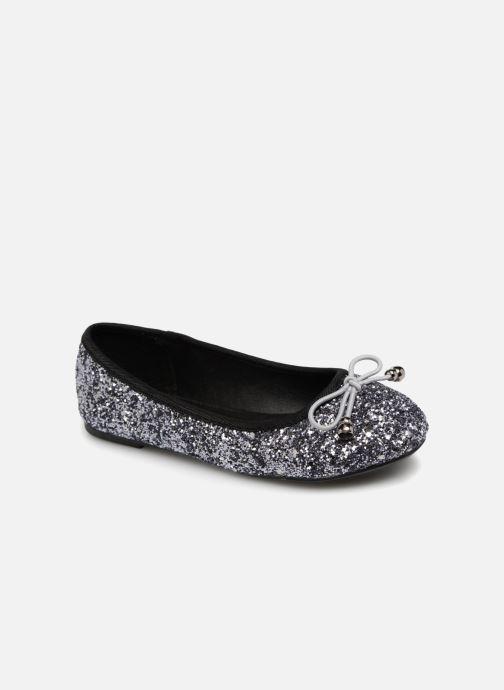 Ballerines I Love Shoes Kibrille Argent vue détail/paire