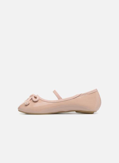 Bailarinas I Love Shoes Kibella Beige vista de frente