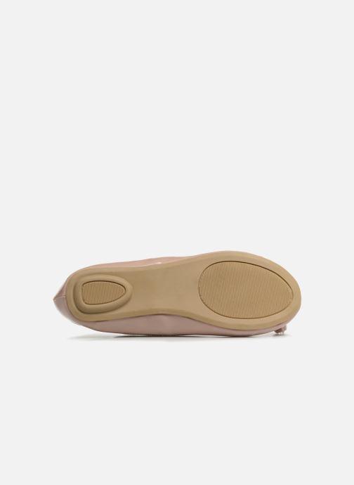 Ballerines I Love Shoes Kibella Beige vue haut