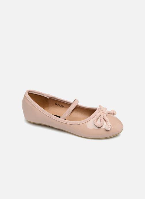 Ballerines I Love Shoes Kibella Beige vue détail/paire