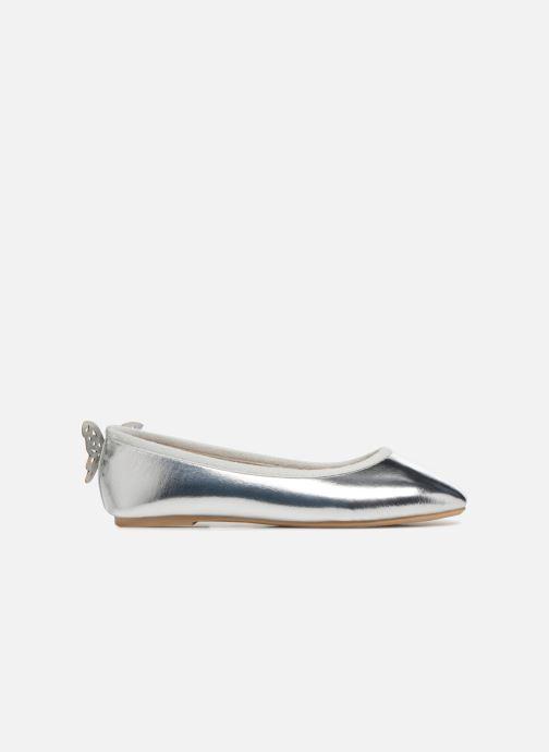 Ballerinas I Love Shoes Kifly silber ansicht von hinten