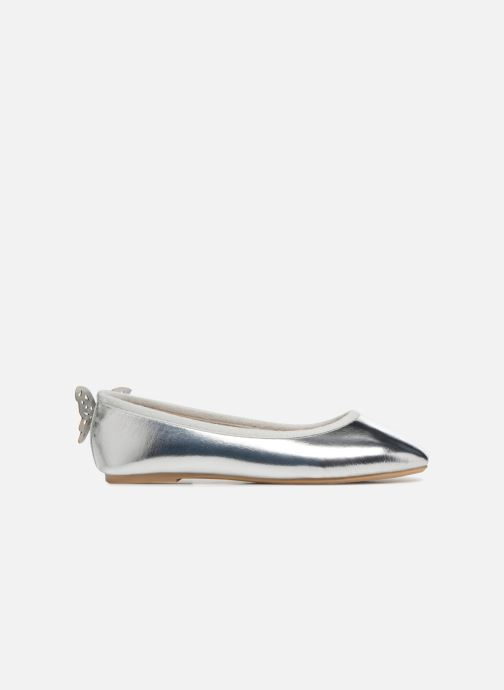 Bailarinas I Love Shoes Kifly Plateado vistra trasera