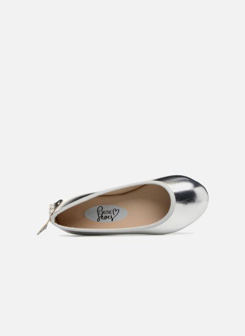 Bailarinas I Love Shoes Kifly Plateado vista lateral izquierda