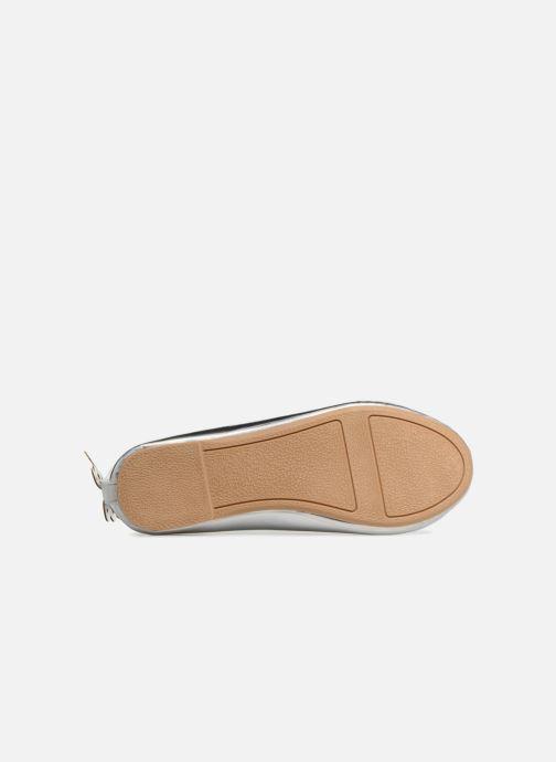 Ballerinas I Love Shoes Kifly silber ansicht von oben