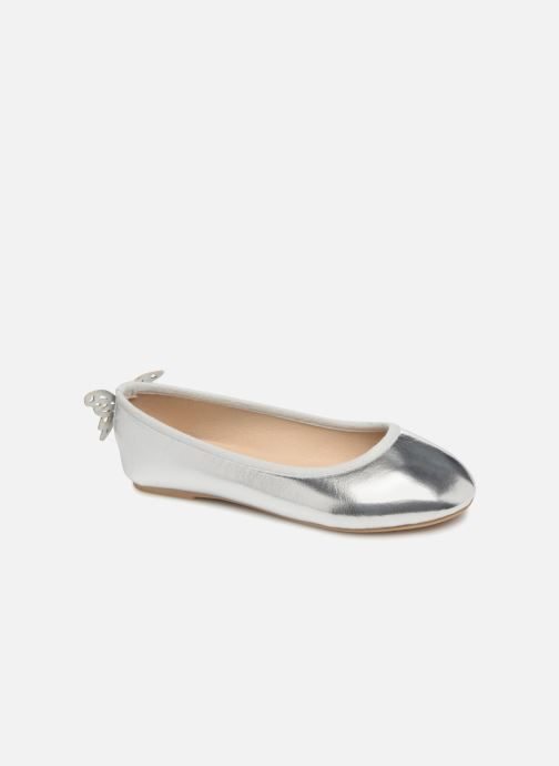 Ballerina's I Love Shoes Kifly Zilver detail