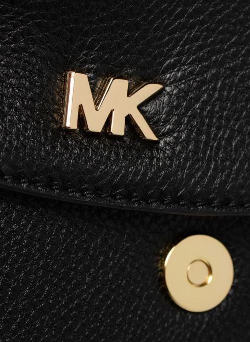 Sacs à main Michael Michael Kors HALF  DOME Noir vue gauche