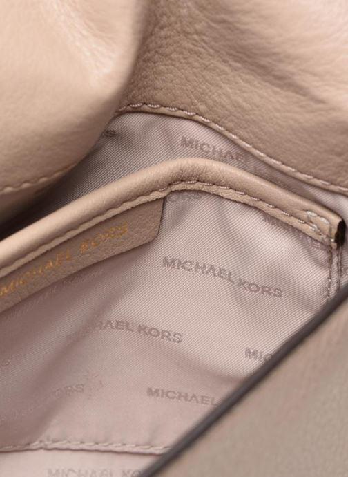 Handtassen Michael Michael Kors HALF  DOME Beige achterkant