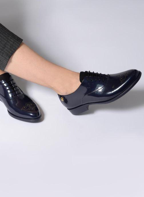 Chaussures à lacets Lemon Jelly Jeny 14 Bleu vue bas / vue portée sac