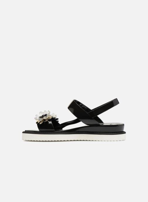 Sandals Lemon Jelly Ginko 01 Black front view