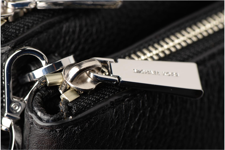 Bolsos de mano Michael Michael Kors Double Zip Crossbody Negro vista lateral izquierda