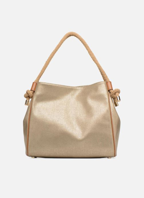 Sacs à main Michael Michael Kors Isla LG Grab Bag Or et bronze vue face