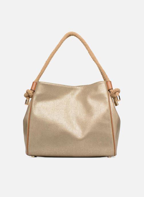 Bolsos de mano Michael Michael Kors Isla LG Grab Bag Oro y bronce vista de frente