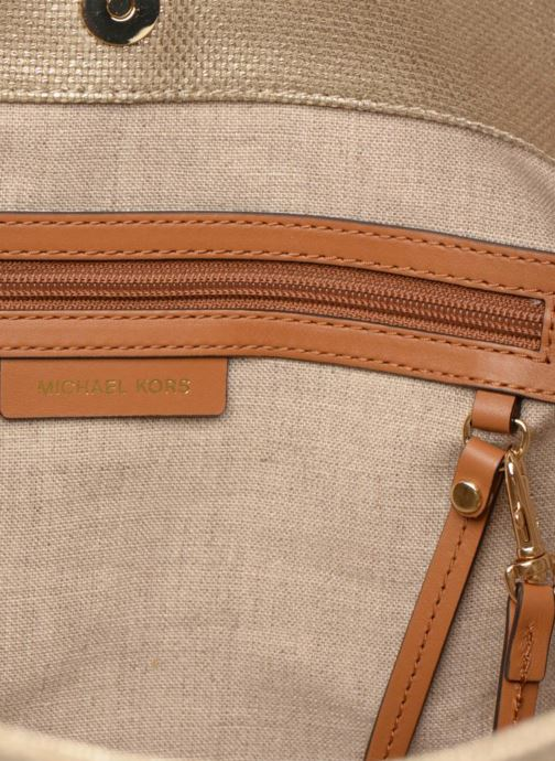 Sacs à main Michael Michael Kors Isla LG Grab Bag Or et bronze vue derrière