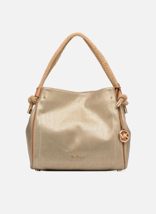 Sacs à main Michael Michael Kors Isla LG Grab Bag Or et bronze vue détail/paire