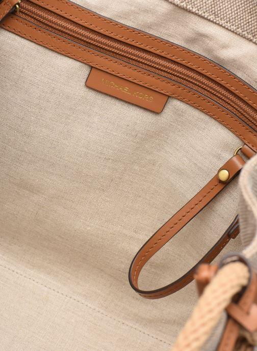 Handtaschen Michael Michael Kors Isla LG Grab Bag weiß ansicht von hinten