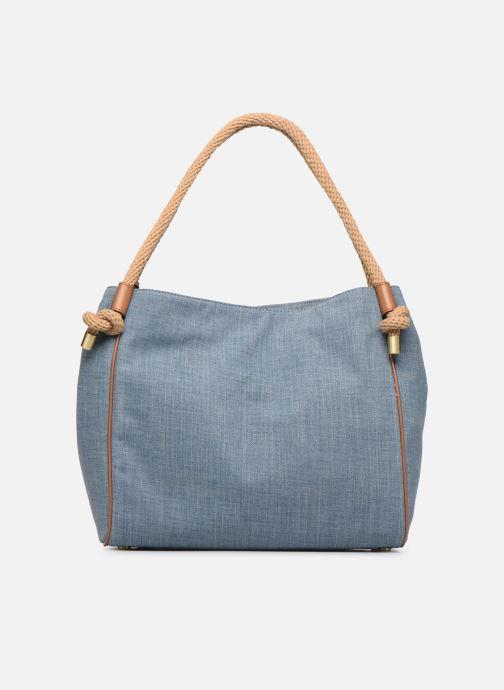 Sacs à main Michael Michael Kors Isla LG Grab Bag Bleu vue face