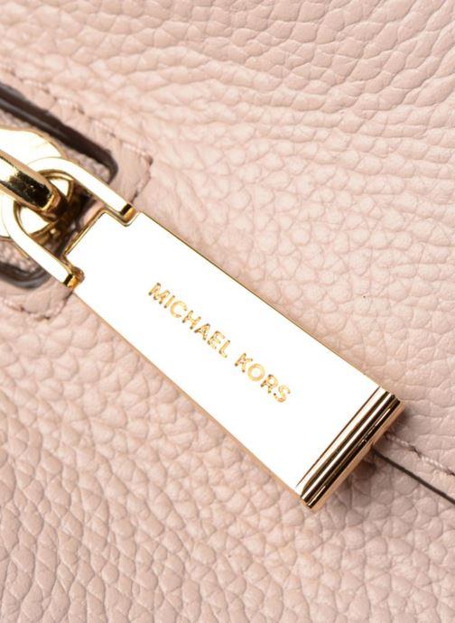 Bolsos de mano Michael Michael Kors Mercer Gallery MD Center Zip Tote Rosa vista lateral izquierda