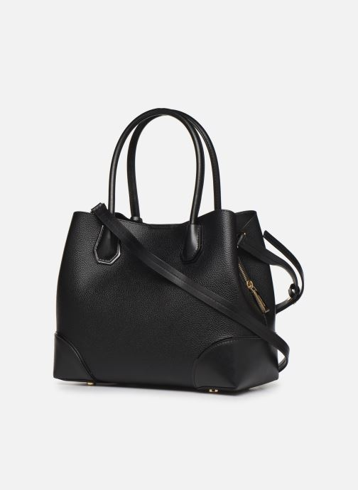 Sacs à main Michael Michael Kors Mercer Gallery MD Center Zip Tote Noir vue droite