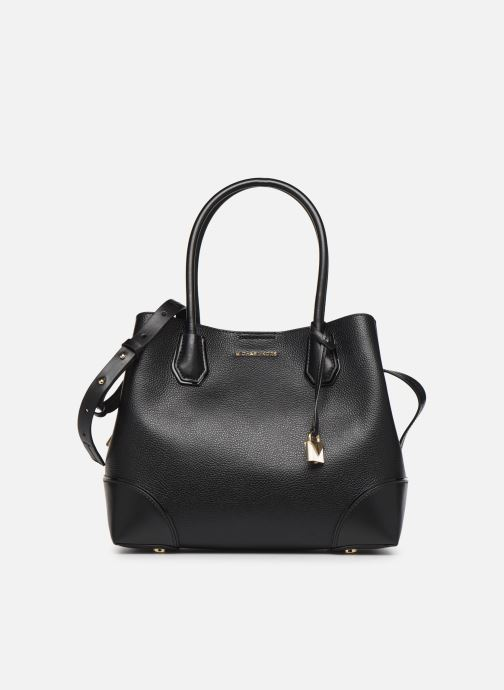 Sacs à main Michael Michael Kors Mercer Gallery MD Center Zip Tote Noir vue détail/paire