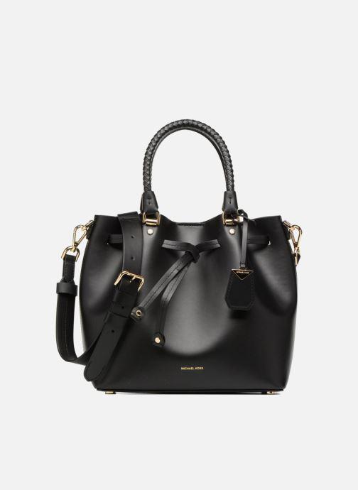 Leder Handtasche Bucket Bag von Michael Kors, schwarz