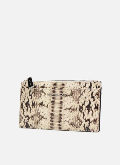 Kleine lederwaren Michael Michael Kors LG Slim Cardcase Beige model