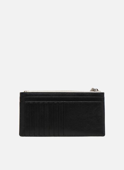 Kleine lederwaren Michael Michael Kors LG Slim Cardcase Beige voorkant