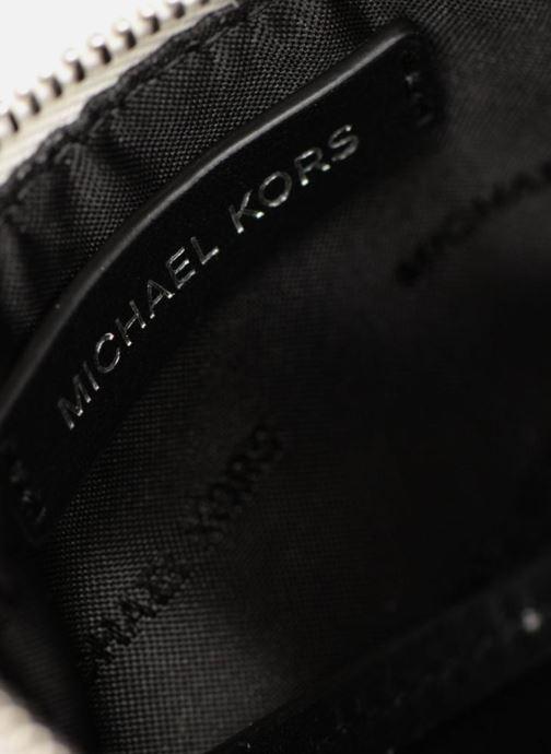 Kleine lederwaren Michael Michael Kors LG Slim Cardcase Beige achterkant