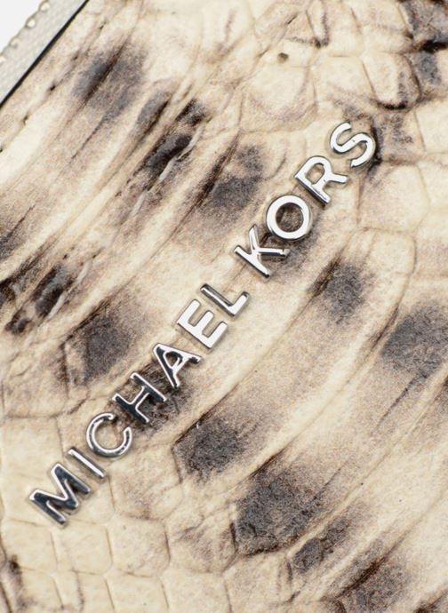 Kleine lederwaren Michael Michael Kors LG Slim Cardcase Beige links