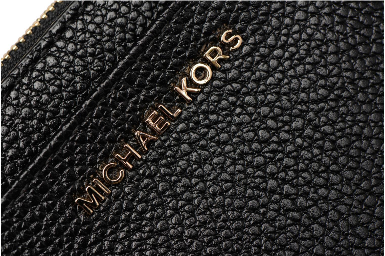 Marroquinería pequeña Michael Michael Kors LG Slim Cardcase Negro vista lateral izquierda